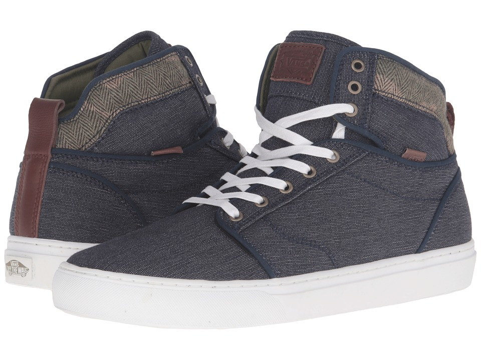 Vans - Alomar ((Suiting Clash) Parisian Night/White) Men's Skate Shoes