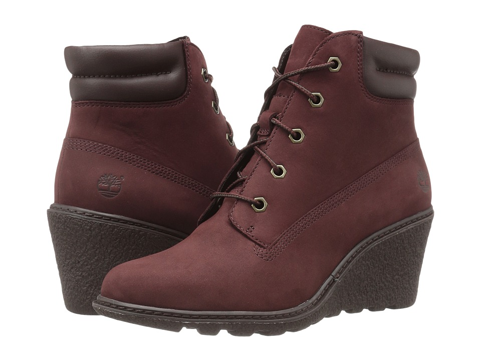 Timberland - Earthkeepers(r) Amston 6 Boot (Medium Brown Full Grain) Women's Lace-up Boots