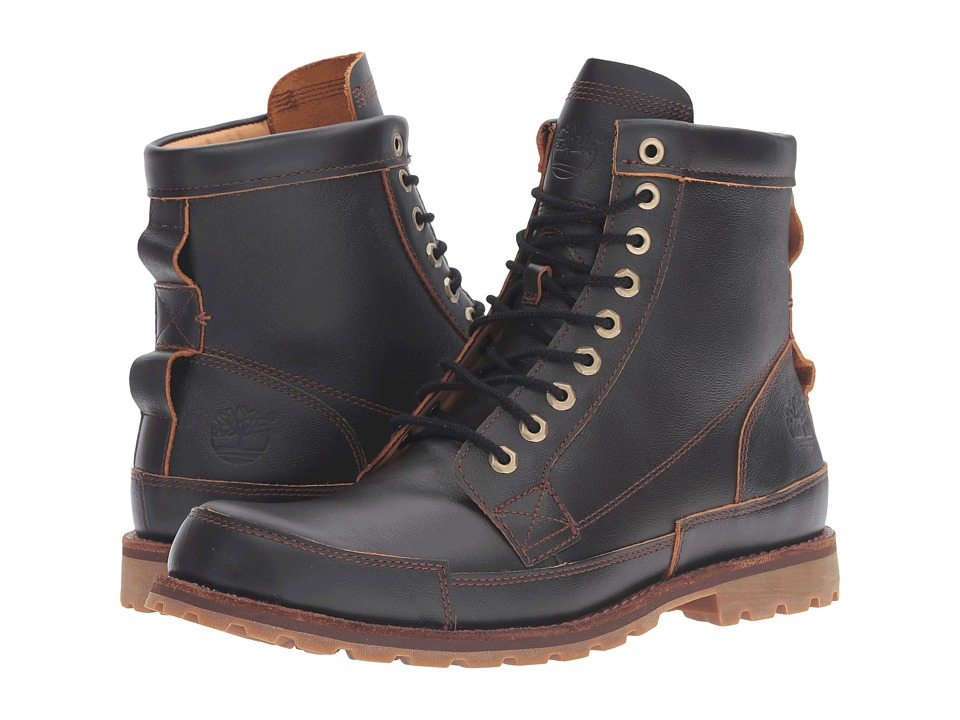 Timberland - Earthkeepers Rugged Original Leather 6 Boot (Dark Brown Full Grain) Men's Lace-up Boots