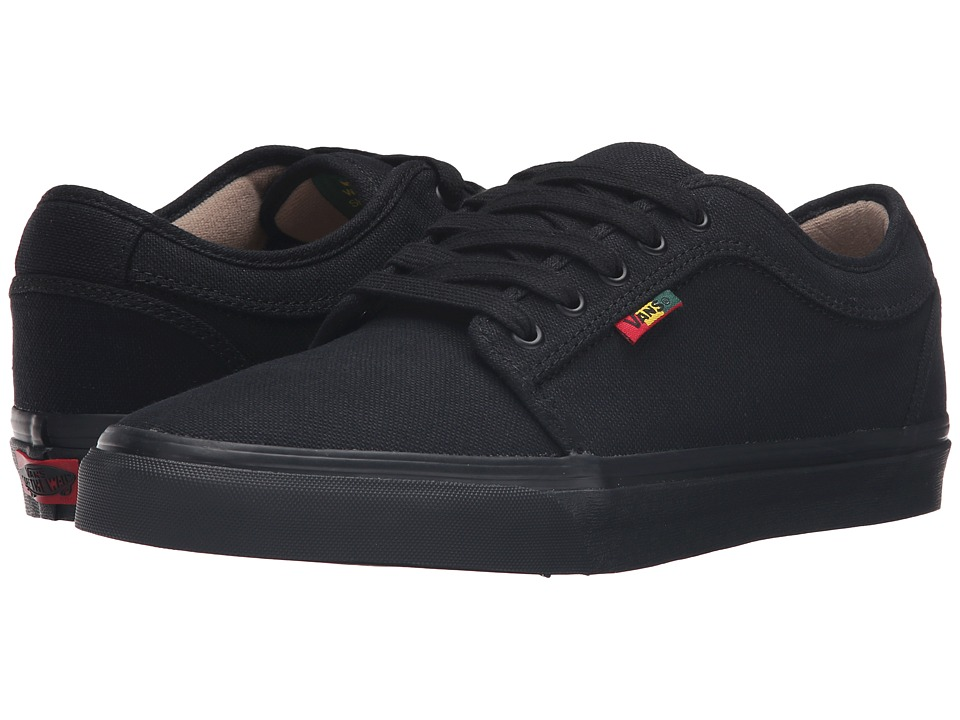 Vans - Chukka Low ((Hemp) Black/Rasta) Men's Skate Shoes