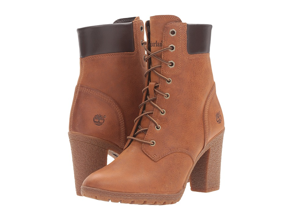 Timberland - Earthkeepers Glancy 6 Boot (Wheat Full Grain) Women's Dress Lace-up Boots