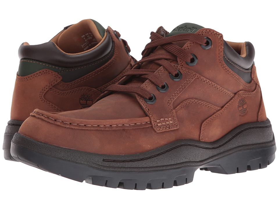 Timberland Hempstead Waterproof Moc Toe Super Oxford (Medium Brown Full Grain) Men