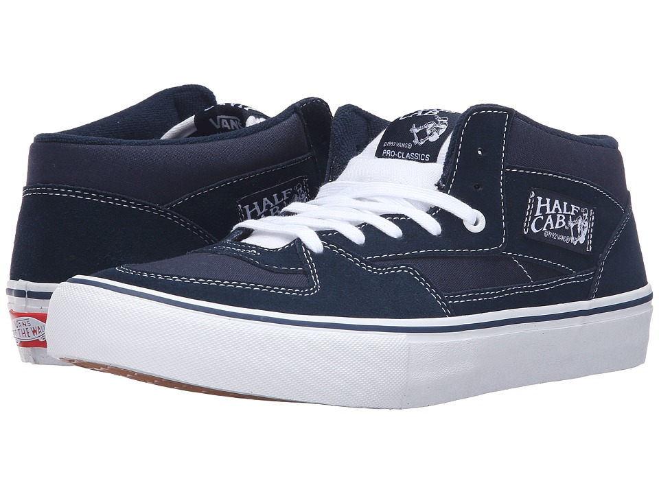 Vans - Half Cab Pro (Dress Blues) Men's Skate Shoes