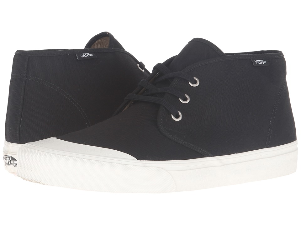Vans - Prairie Chukka (Black/Marshmallow) Men's Lace up casual Shoes