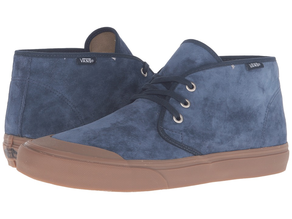 Vans - Prairie Chukka (Dress Blues/Gum) Men's Lace up casual Shoes