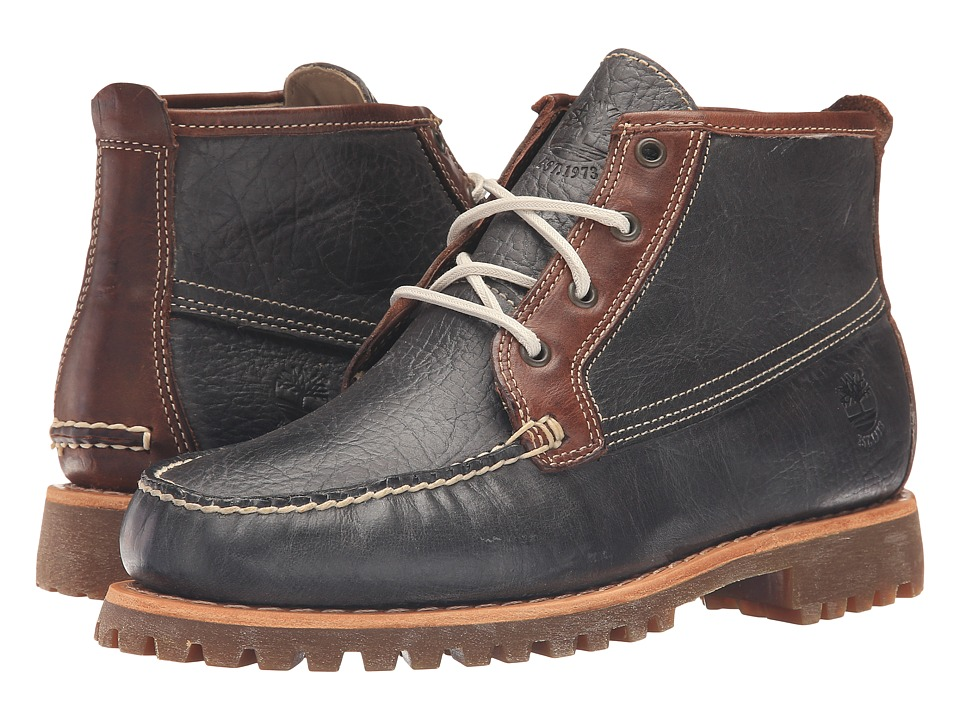 Timberland Authentics Chukka (Dark Grey Full Grain) Men