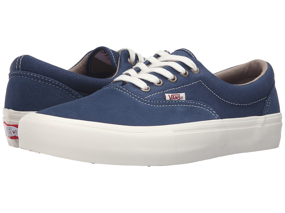 Vans - Era Pro (Insignia Blue/Marshmallow) Men's Skate Shoes