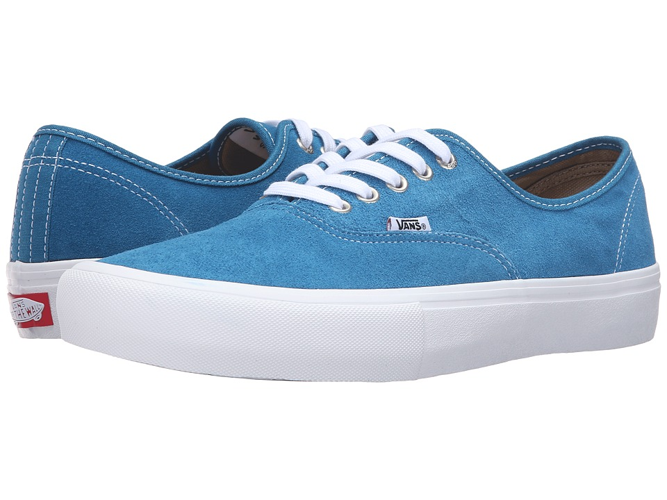 Vans - Authentic Pro (Seaport/White) Men's Skate Shoes