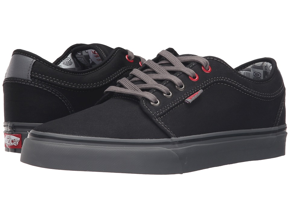 Vans - Chukka Low ((Nintendo Check) Black/Gray) Men's Skate Shoes