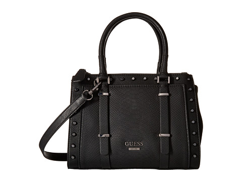 GUESS - Basel Small Status (Black) Handbags