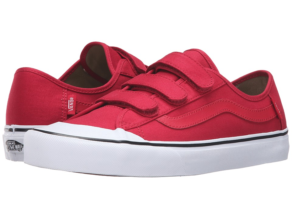 Vans - Black Ball V (Crimson) Men's Shoes