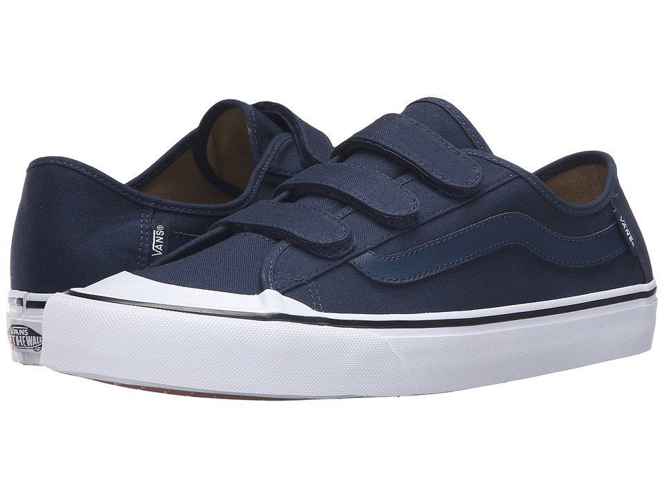 Vans - Black Ball V (Dress Blues/White) Men's Shoes