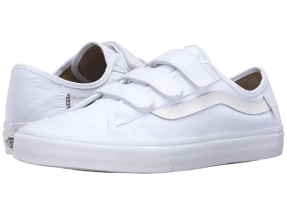 Vans - Black Ball Priz (True White) Men's Shoes