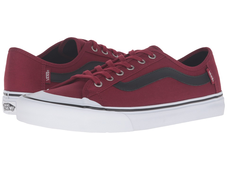 Vans - Black Ball SF (Biking Red/Black) Men's Shoes
