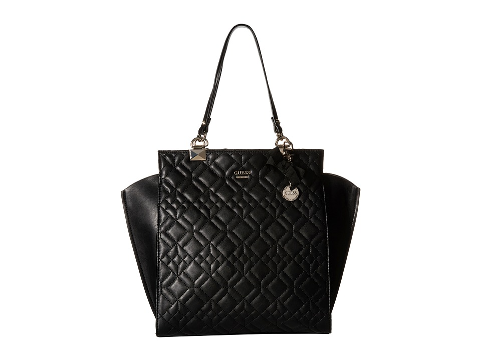 GUESS - Ines Shopper (Black) Handbags