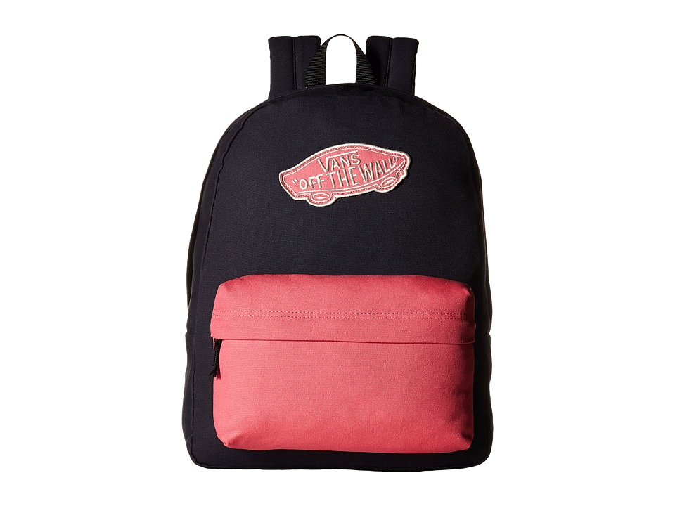 Vans - Realm Backpack (Parisian Night/Camellia Rose) Backpack Bags