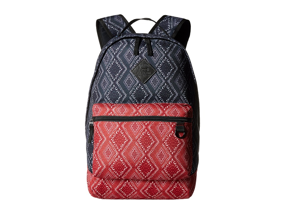 Vans - Tiburon Backpack (Bandana Parisian Night) Backpack Bags