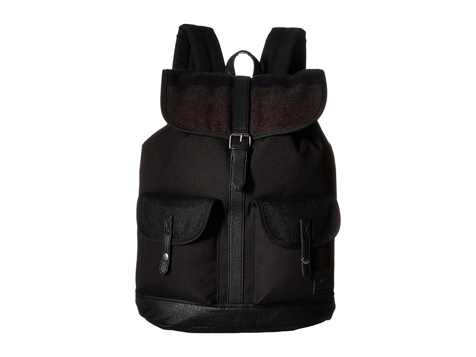 Vans - Lean In Backpack (Black/Multi) Backpack Bags