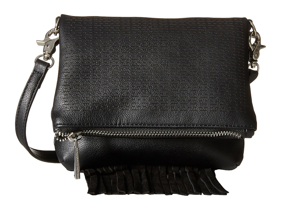 French Connection - Bailey Crossbody (Black) Cross Body Handbags