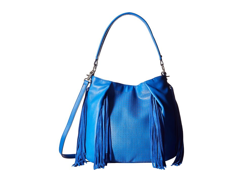 French Connection - Bailey Hobo (Empire Blue) Hobo Handbags
