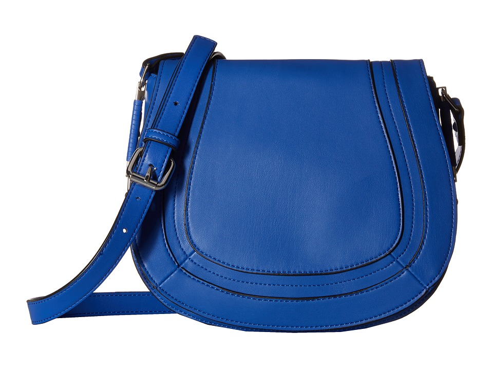 French Connection - Liza Large Crossbody (Empire Blue) Cross Body Handbags