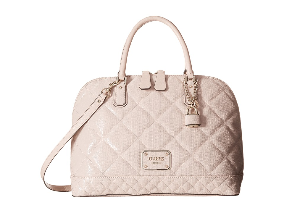 GUESS - Ophelia Large Dome Satchel (Light Rose) Satchel Handbags