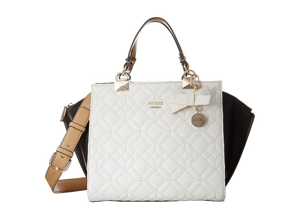 GUESS - Ines (Chalk Multi) Satchel Handbags