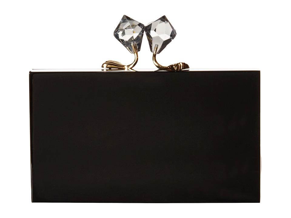 Charlotte Olympia - Paragon Pandora (Black) Clutch Handbags