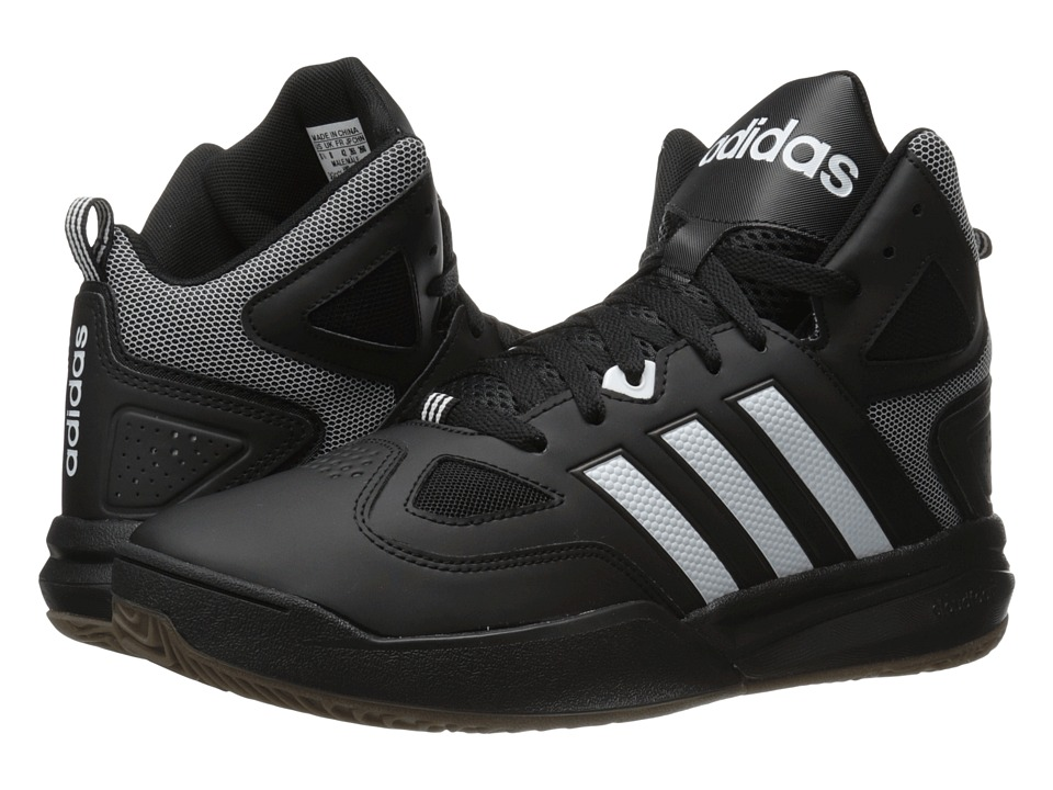 adidas Cloudfoam Thunder Mid (Black/White) Men