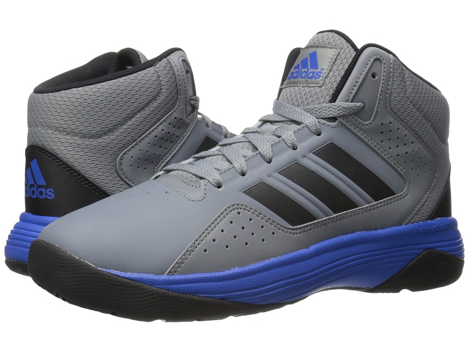 adidas Cloudfoam Ilation Mid (Grey/Black/Blue) Men
