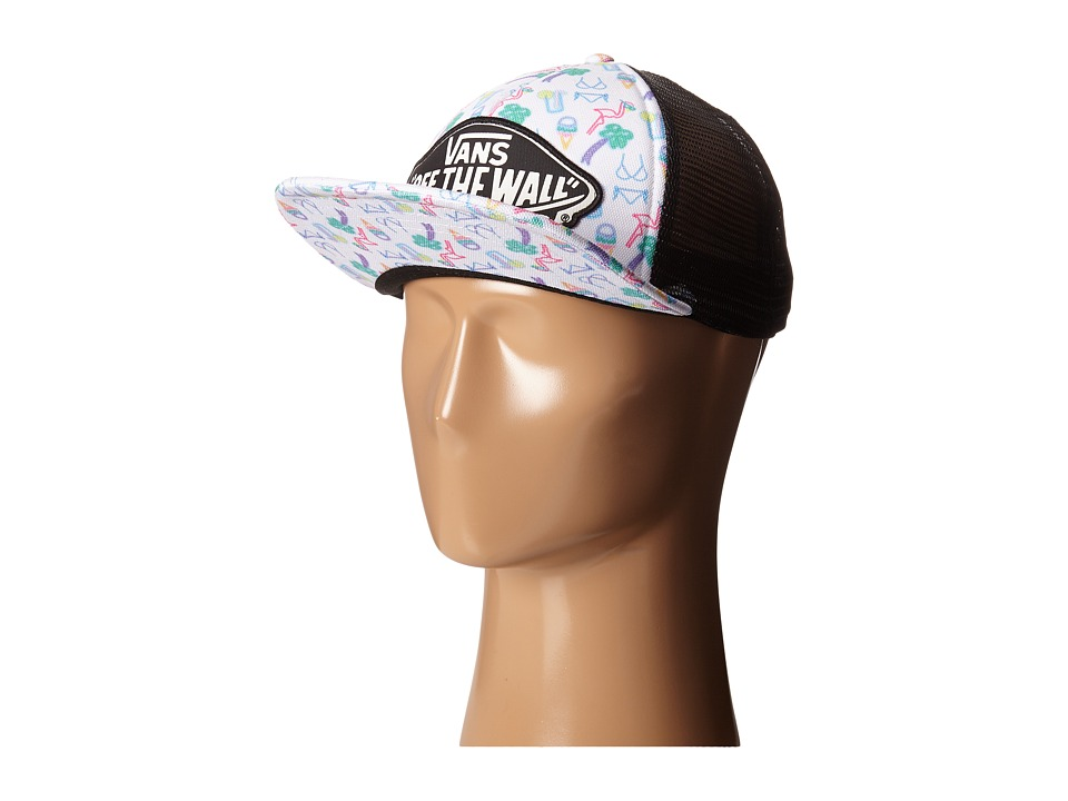 Vans - Beach Girl Trucker Hat (Neon Lights Tropical) Caps