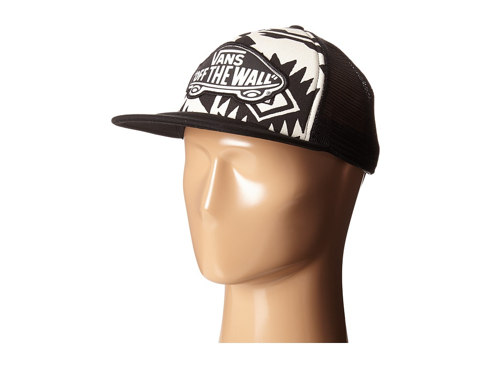 Vans - Beach Girl Trucker Hat (White Sand/Black) Caps