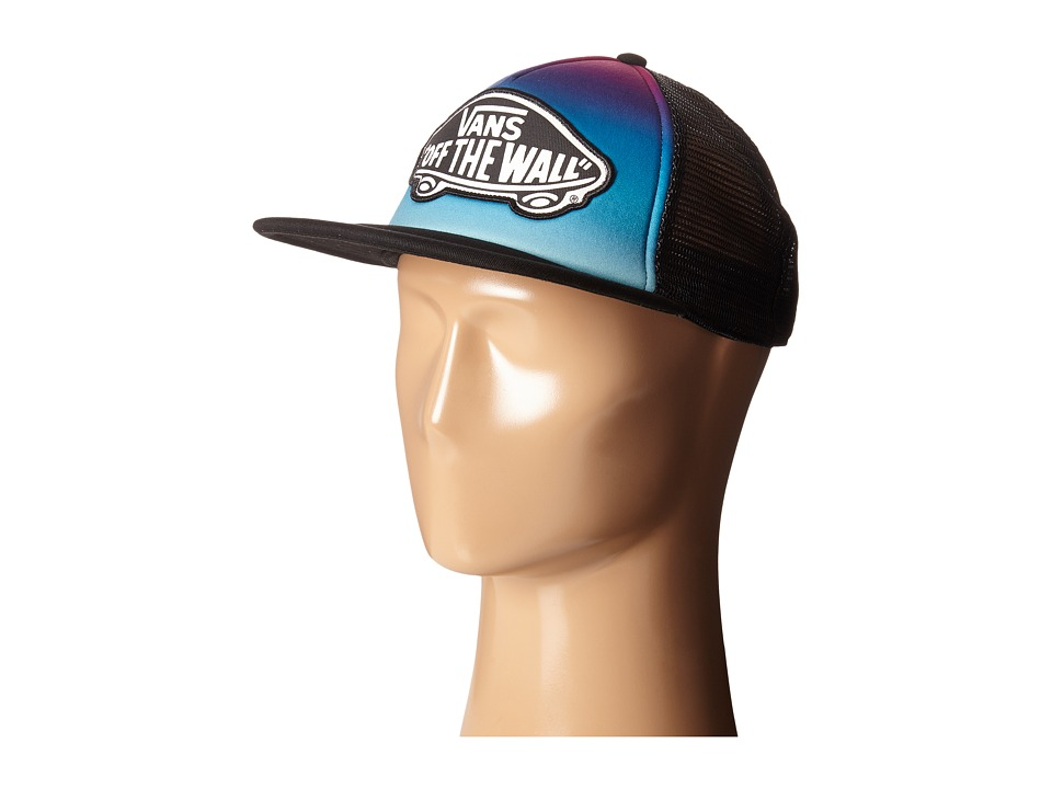Vans - Beach Girl Trucker Hat (Gradient Festival Fuchsia) Caps
