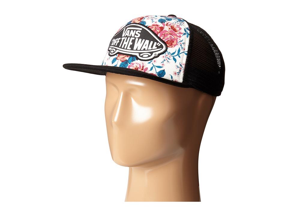 Vans - Leila Trucker Hat (Hana Floral) Baseball Caps