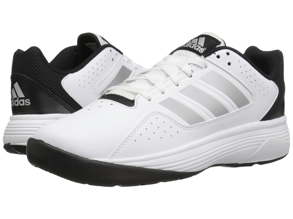 adidas Cloudfoam Ilation (White/Matte Silver/Black) Men