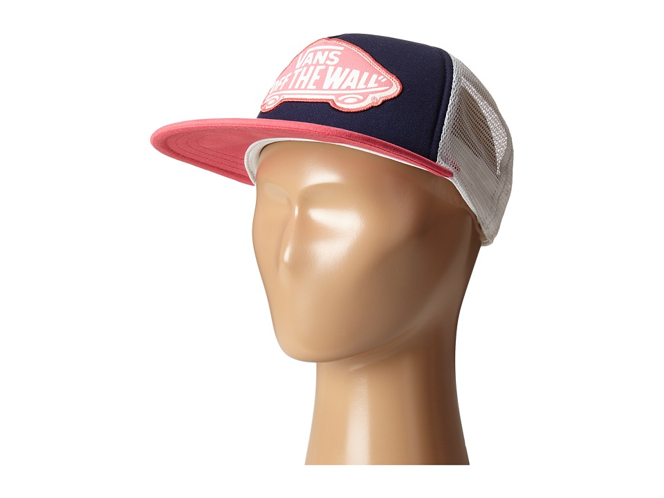 Vans - Beach Girl Trucker Hat (Camellia Rose) Caps