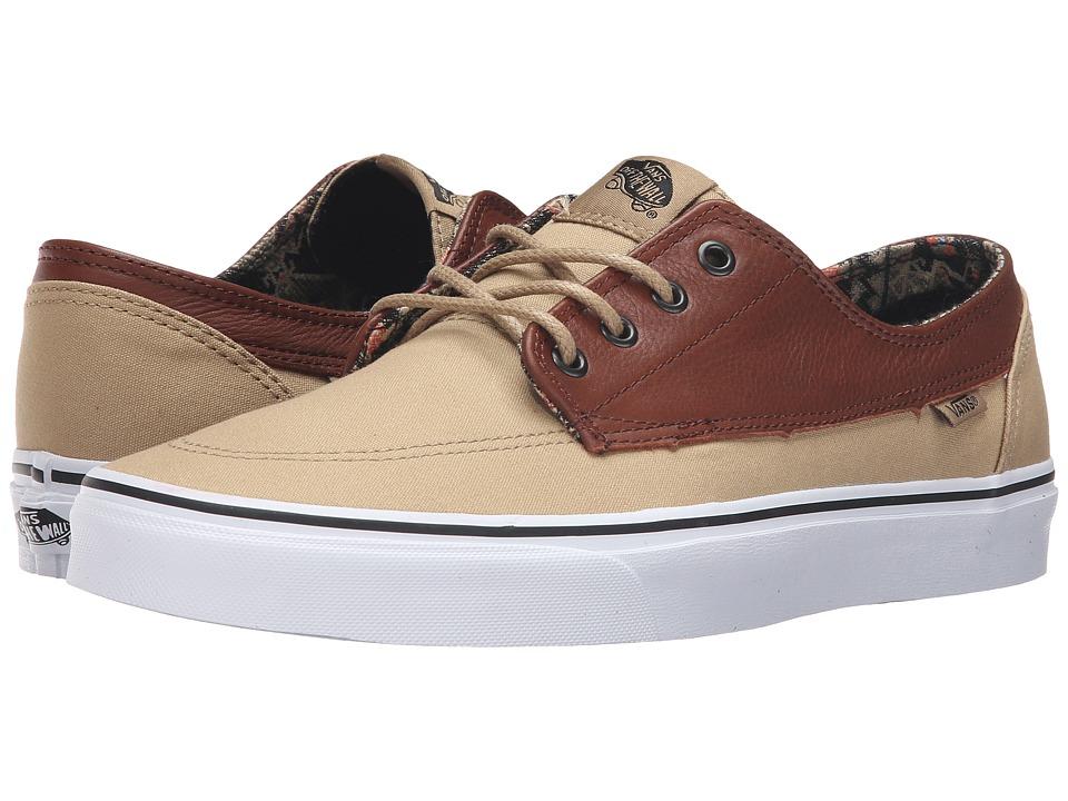 Vans - Brigata ((C&L) Moroccan Geo/Khaki) Skate Shoes