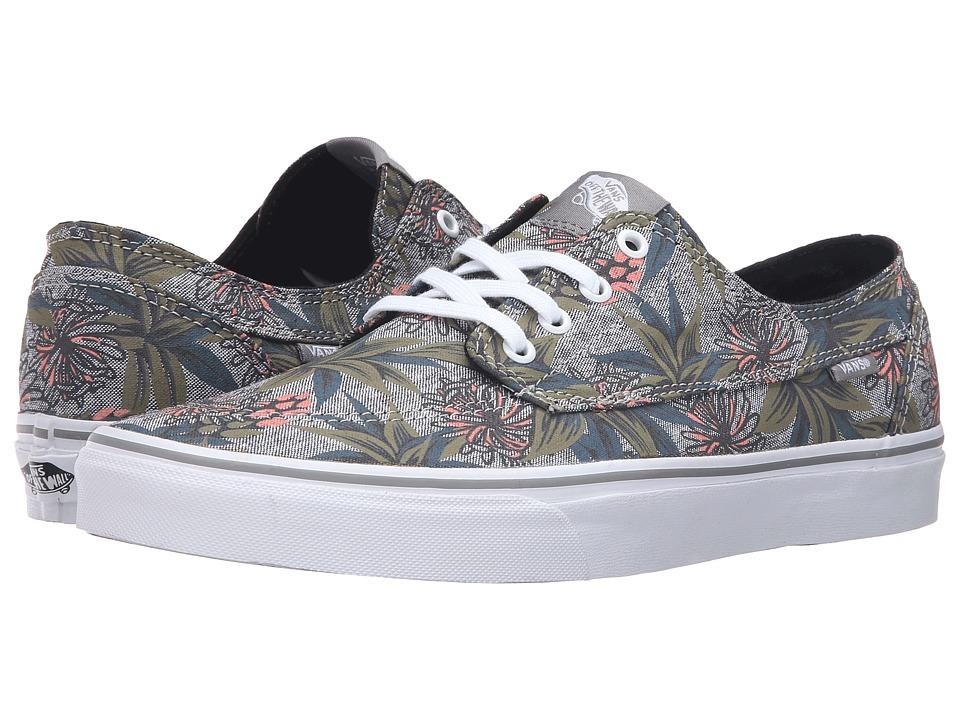 Vans - Brigata ((Desert Aloha) Drizzle/Chambray) Skate Shoes