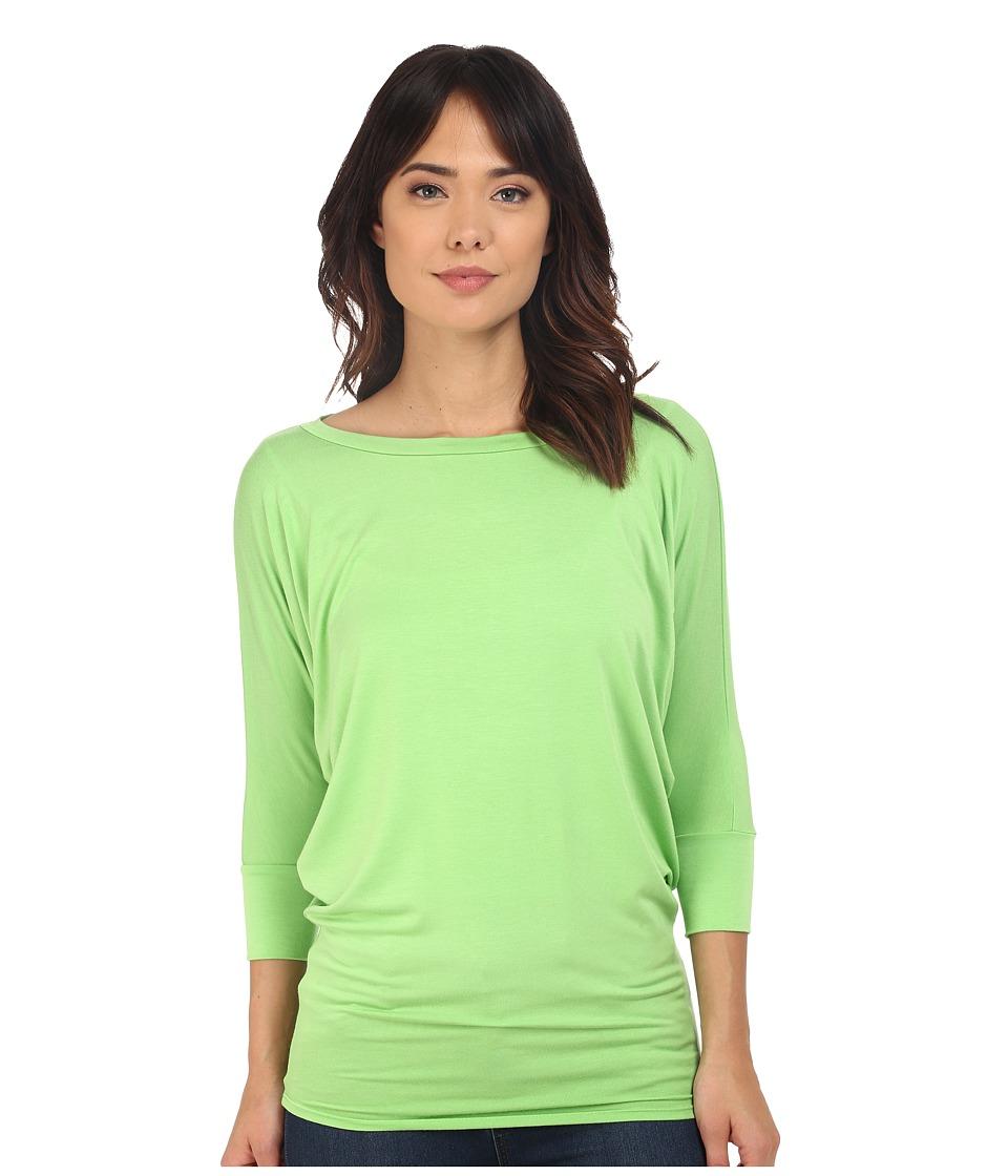Culture Phit Lara Modal Top (Green Flash) Women