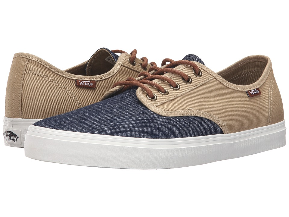 Vans - Aldrich SF ((D&S) Navy/Khaki) Men's Shoes