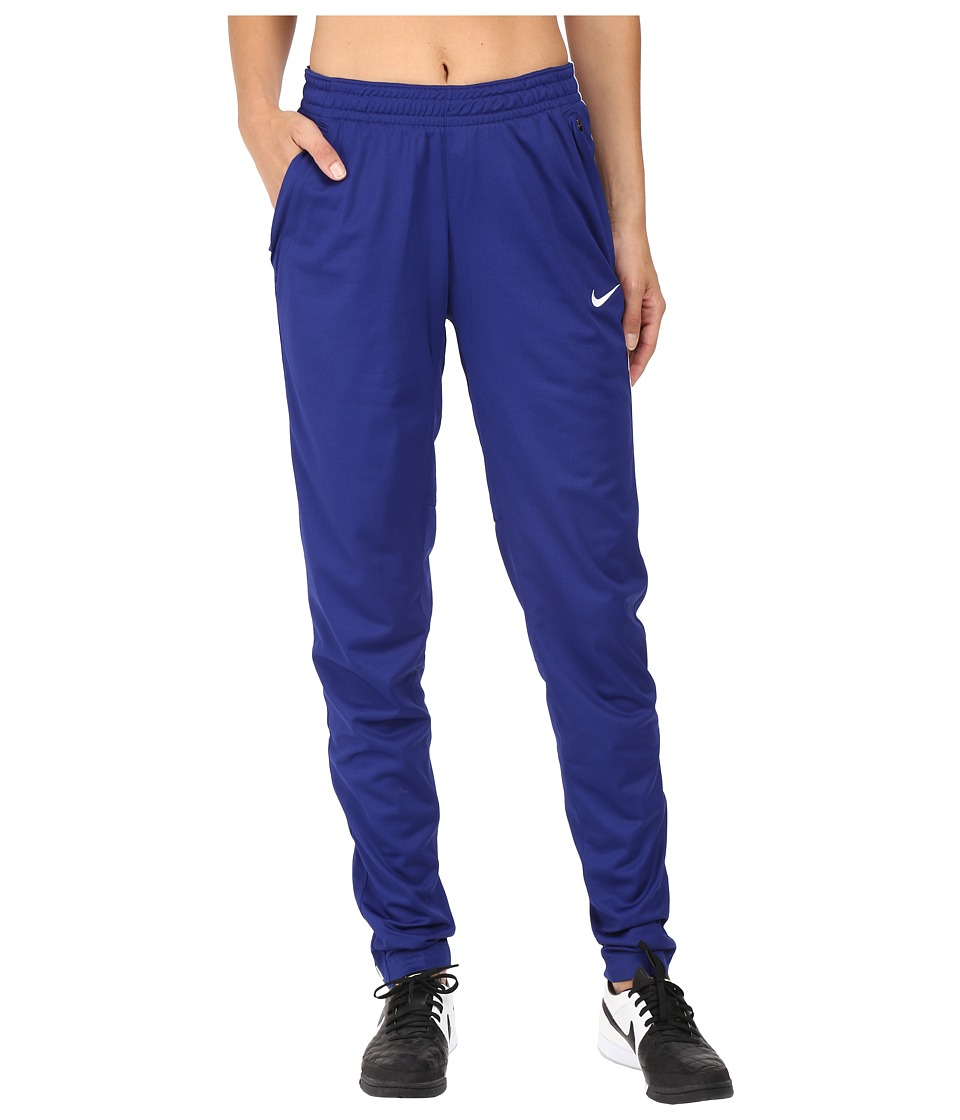 Nike - Academy Knit Soccer Pant (Deep Royal Blue/White/White) Women's Casual Pants