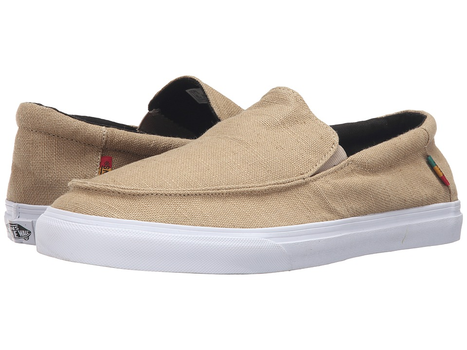 Vans - Bali SF ((Hemp) Khaki/Rasta/White) Men's Shoes