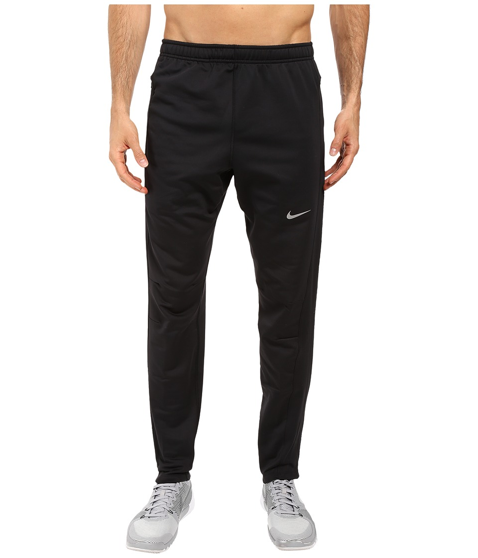 Nike - Dri-Fit Thermal Pants (Black/Black/Reflective Silver) Men's Workout