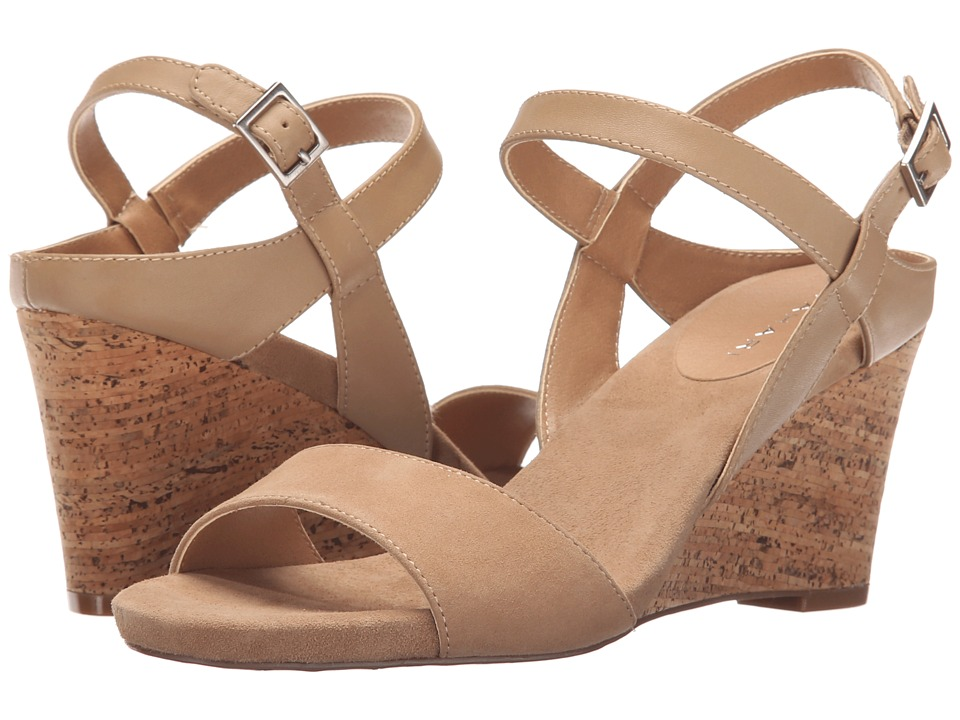 Tahari - Fun (Fawn/Fawn Calf/Kid Suede) Women's Shoes