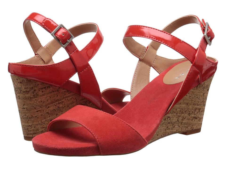 Tahari - Fun (Energy Orange/Blood Orange Patent/Kid Suede) Women's Shoes