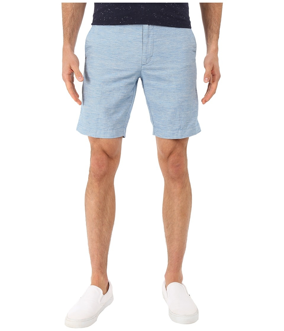 Ben Sherman - Tonic Cotton/Linen Shorts MG12463 (Dark Sky Marl) Men's Shorts