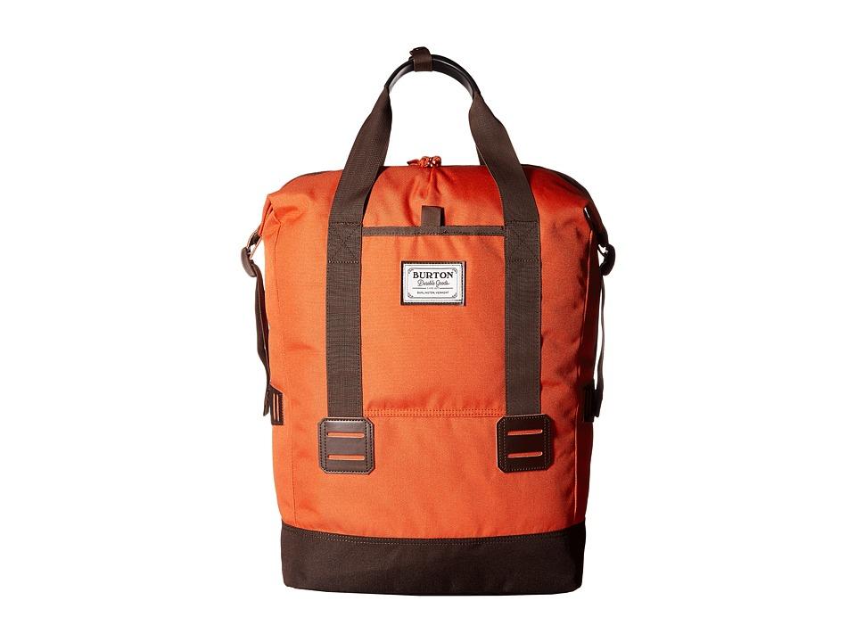 Burton - Tinder Tote (Burnt Ochre) Tote Handbags