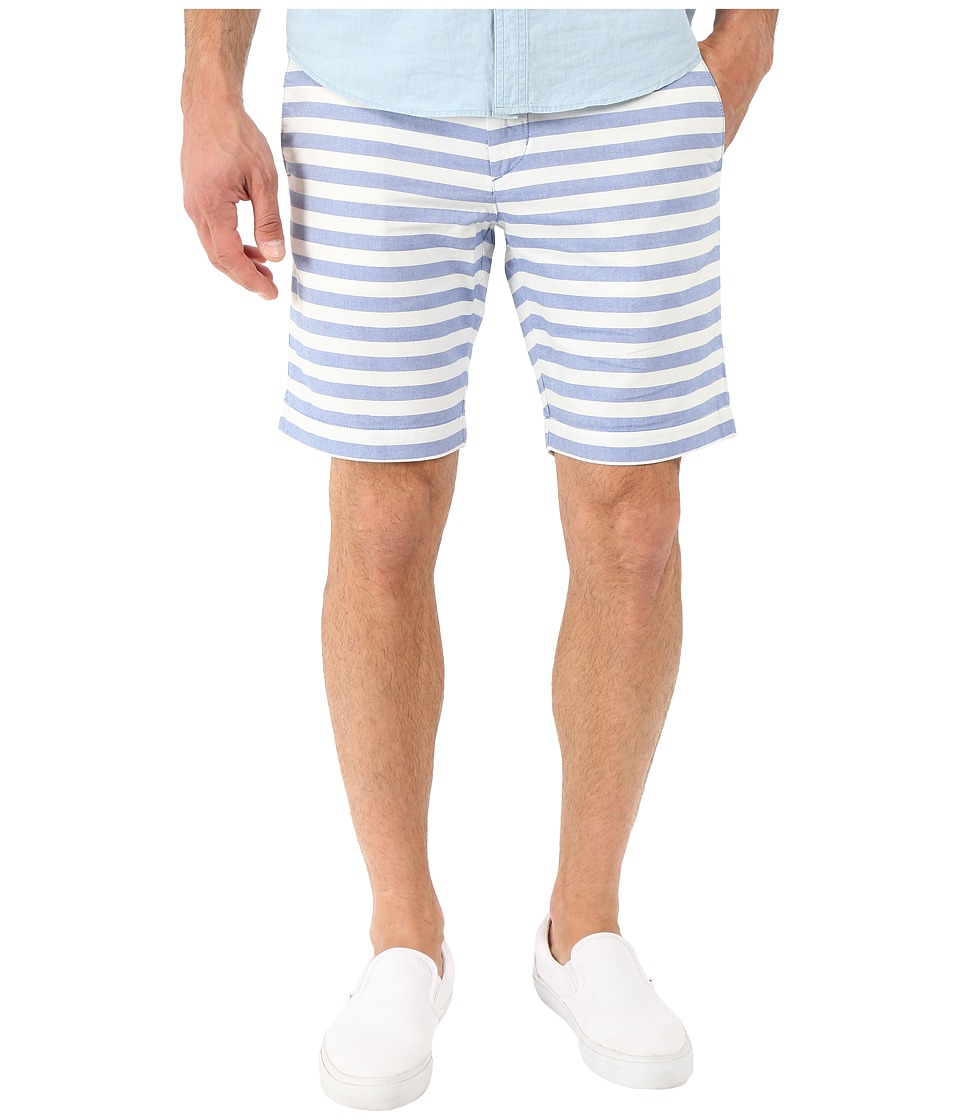 Ben Sherman - Oxford Stripe Shorts MG12464 (Oxford Blue) Men's Shorts