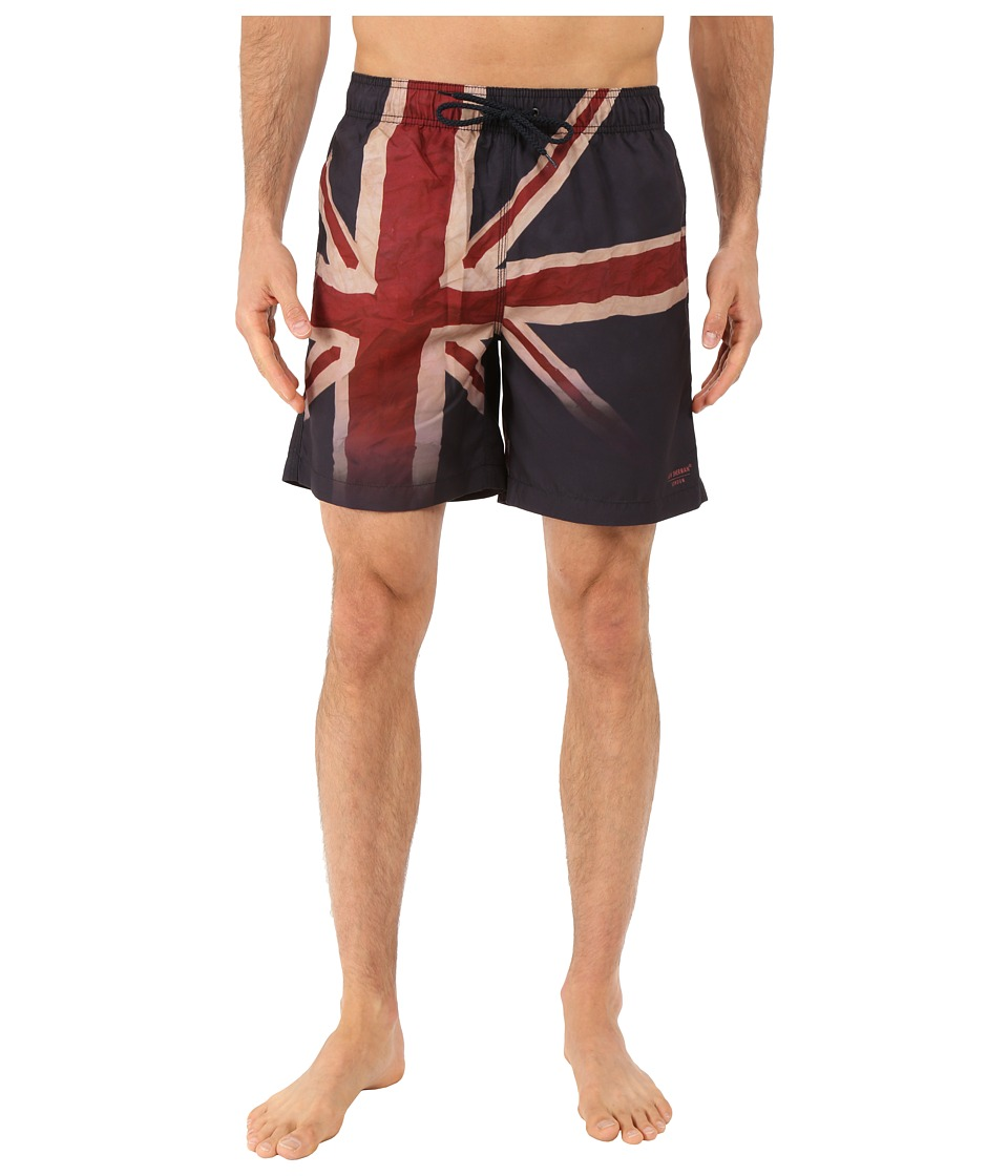 Ben Sherman - Union Jack Faded Swim Bottom MG12471 (Navy Blazer) Men's Swimwear