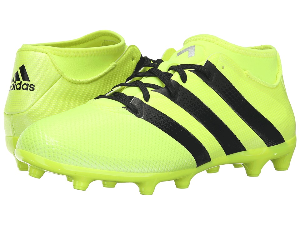 adidas - Ace 16.3 Primemesh FG/AG (Solar Yellow/Black/Silver Metallic) Men's Soccer Shoes